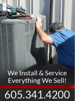 We install and service everything we sell. Call 605-341-4200